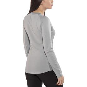 Salewa Fanes Dri-Rel - T-shirt manches longues Femme - gris